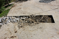 Fixing a Broken Sewer Line under House or Driveway